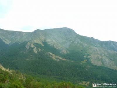 Reto senderismo-Cara Sur de la Maliciosa; viajes trekking la horizontal ruta cercedilla rutas monta�